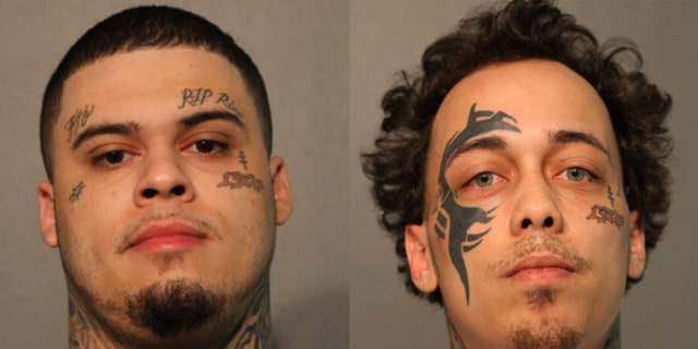 Santo Lozoya, left, and Jose Martinez, right, were indicted on federal racketeering conspiracy charges.