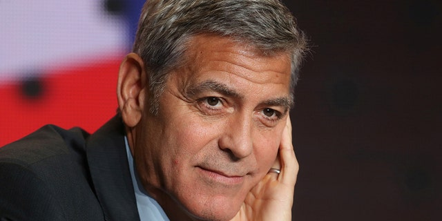 Actor George Clooney.