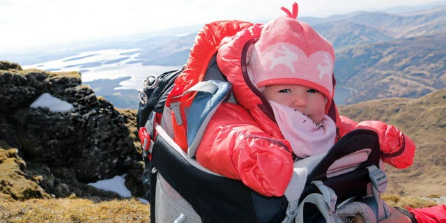 Westlake Legal Group head-for-height-345878 5-month-old is Scotland's youngest mountaineer, which her mom claims helps development SWNS fox-news/travel/general/camping-hiking fnc/great-outdoors fnc c71874e3-aefa-56c3-970e-f8b95b12ba47 article