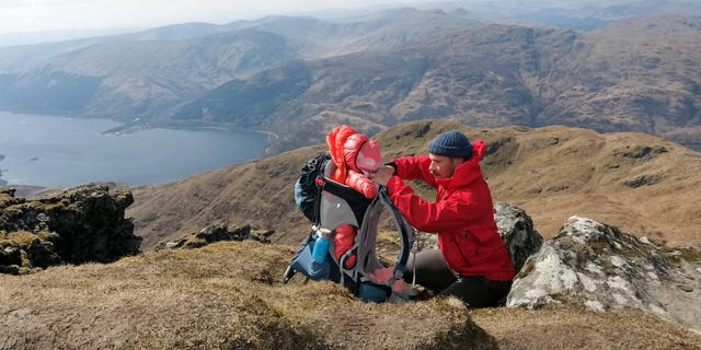 Westlake Legal Group head-for-height-345881 5-month-old is Scotland's youngest mountaineer, which her mom claims helps development SWNS fox-news/travel/general/camping-hiking fnc/great-outdoors fnc c71874e3-aefa-56c3-970e-f8b95b12ba47 article