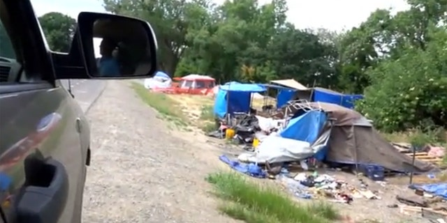 Officials are concerned that homeless encampments in Northern California are causing damage to levees.
