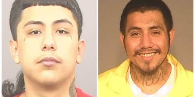 Andrew Gullien, left,and John Chavez have been charged with the murder ofAlejo Lara Armenta.