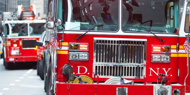 A white firefighter has sued the FDNYafter claiming he was barred from participating in a color guard ceremony honoring deceased members of the Vulcan Society-- a fraternal organization of black firefighters