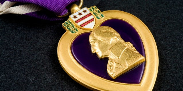 A United States Military Purple Heart