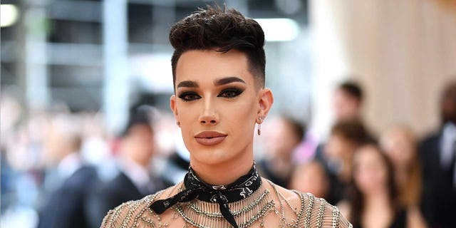 "James Charles attends The Metropolitan Museum of Art's Costume Institute benefit gala celebrating the opening of the ""Camp: Notes on Fashion"" exhibition on Monday, May 6, 2019, in New York."