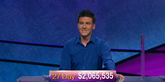 James Holzhauer won his 27th consecutive