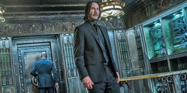 """Keanu Reeves stars in a scene from """"John Wick: Chapter 3 - Parabellum."""""""