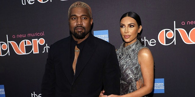 "Kanye West and Kim Kardashian West attend opening night of ""The Cher Show"" at Neil Simon Theatre"