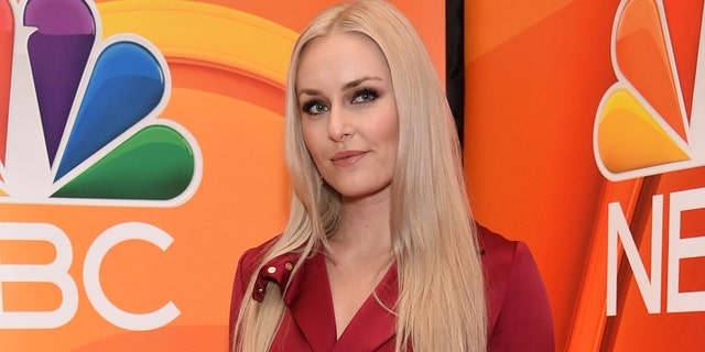 Lindsey Vonn attends a NBC 2019/2020 Upfront during The Four Seasons New York on Monday, May 13, 2019.
