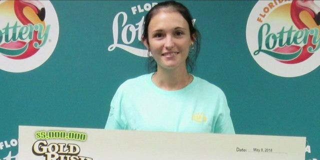 Last May, Karlee Harbst won $1 million in the Florida Lottery's Gold Rush game, according to reports. (Florida Lottery)