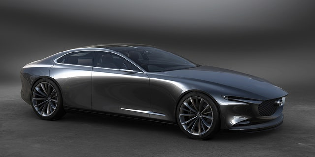 The Mazda Vision Coupe concept has the kind of hood a straight-6 would be right at home under.