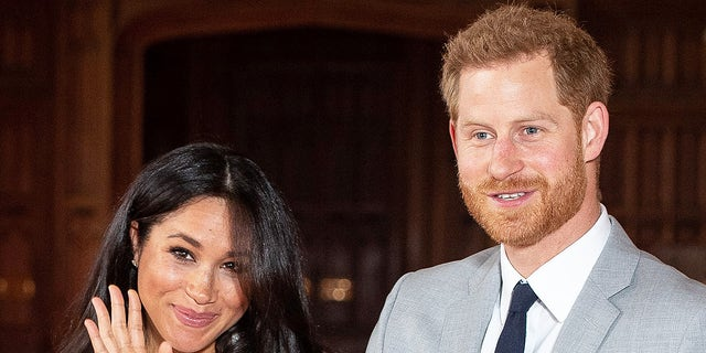 Meghan Markle and Prince Harry hail a press as they entrance Baby Sussex. The integrate met reporters during Windsor Castle, where they also met with Queen Elizabeth II and Prince Philip, Duke of Edinburgh.