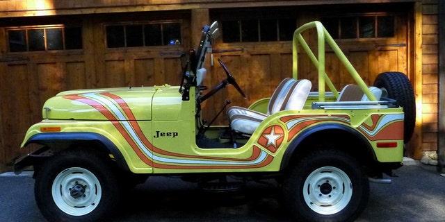 Westlake Legal Group mil-2 Rare Jeep CJ listed on Ebay for $1 million Gary Gastelu fox-news/auto/style/suv fox-news/auto/make/jeep fox-news/auto/attributes/collector-cars fox news fnc/auto fnc article 72ecf34e-a2cc-5322-9e6d-5d3bef59ad33