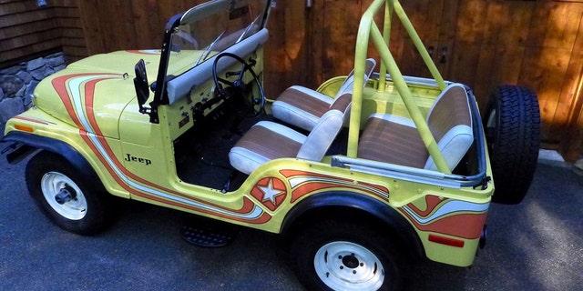 Westlake Legal Group mil-3 Rare Jeep CJ listed on Ebay for $1 million Gary Gastelu fox-news/auto/style/suv fox-news/auto/make/jeep fox-news/auto/attributes/collector-cars fox news fnc/auto fnc article 72ecf34e-a2cc-5322-9e6d-5d3bef59ad33