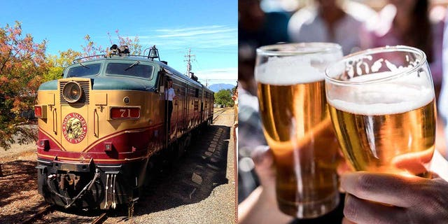 Some beers that will be featured on the train will be a fresh and citrusy Loco IPA 7.5%, a smooth and smoky 1849 Gold Rush Red Ale 5.7%, and a light and crisp Little Loco Session IPA 5.3%, all brewed by the Napa Palisades Beer Company.