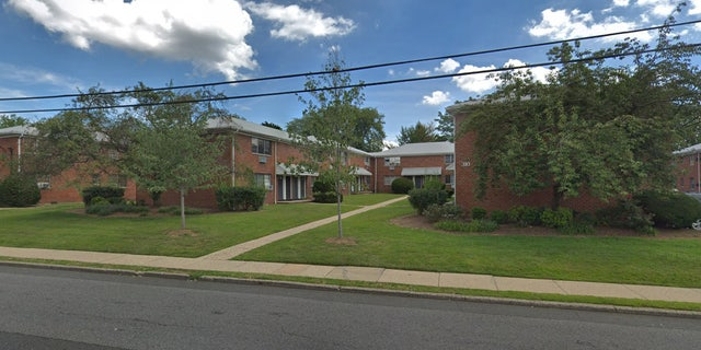 The New Jersey apartment complex where police allege that 29-year-old Hiralbahen Bhavsar stabbed her infant daughter to death.