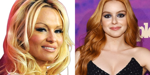 Pamela Anderson, left, came to Ariel Winter's, right, defense after the actress was body-shamed on social media.