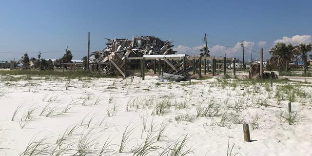 Last October 10, a monster Category 5 Hurricane Michael, with winds of about 160 mph, pushed an estimated 15-foot storm surge through the town of Mexico Beach in the Florida Panhandle. It wiped out much of the town, sweeping home after home off their foundations.