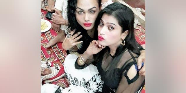 Nani Begum and her fellow Bengali sex worker in Karachi, Pakistan