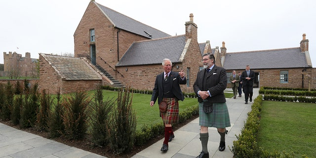 All increase will go toward progressing and handling a estate as a traveller end in a North Highlands of Scotland.