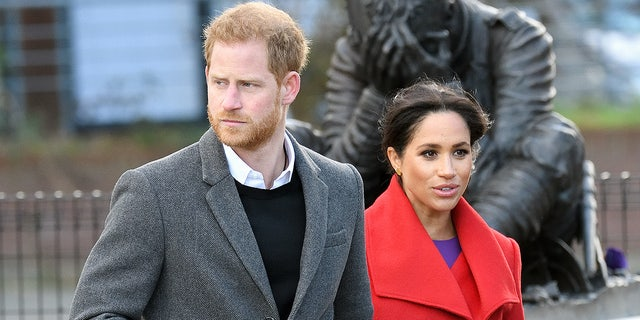 "Trump, who is typically quick to slam his critics, predicted that Markle would make a ""very good"" princess, and has had nothing but kind words about Prince Harry.  (Photo by Karwai Tang/WireImage)"