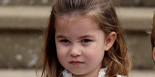 Princess Charlotte is the second child of Prince William and Catherine, the Duchess of Cambridge. (Steve Parsons/Pool via AP, File)