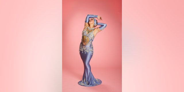 Danielle Colby credited burlesque for helping her feel more comfortable in her own skin. — Sam Doyle