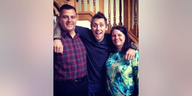 "YouTube's Roman Atwood posted this photo to Instagram in 2013 with the caption, ""My amazing Mother and Father! The only reason I exist!!"""