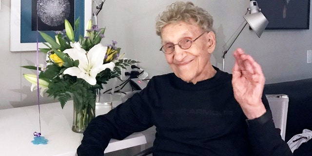 This Feb. 7, 2017 photo provided by Suzanne Shore shows her husband, Sammy Shore. The actor and standup comedian who co-founded the Comedy Store died Saturday, May 18, 2019. He was 92.