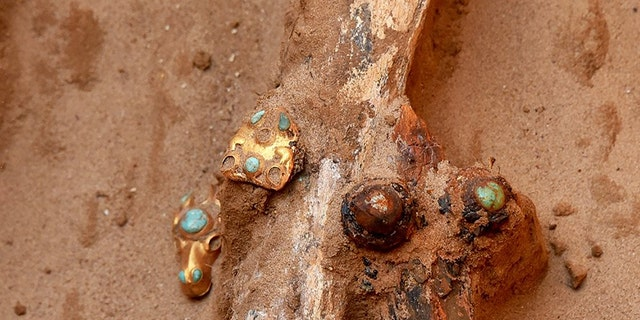 Treasures uncovered by a farmer in southern Russia. (East2West)