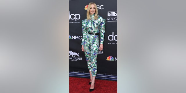 Sophie Turner arrives at the Billboard Music Awards on Wednesday, May 1, 2019, at the MGM Grand Garden Arena in Las Vegas. (Photo by Richard Shotwell/Invision/AP)