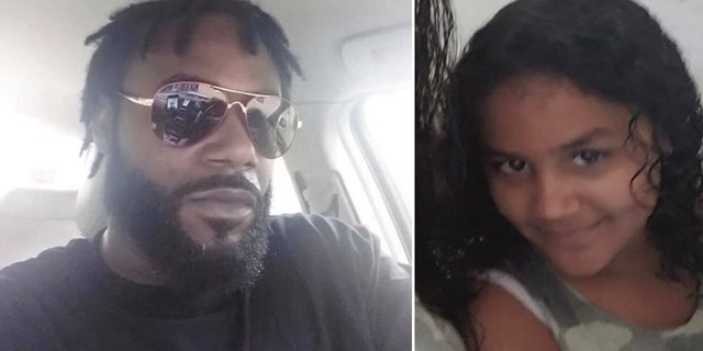 Police said they believe Hart, left, his daughter, right, and his 10-month-old son, not pictured, may be traveling to Georgia.
