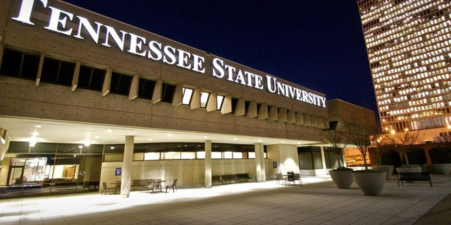 Tennessee State University building. Seven people between ages 19 and 22 were shot at an off-campus house party early Sunday. It was not immediately known if the victims were students.