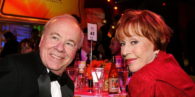 Actor Tim Conway and Actress Carol Burnett in the audience at the 2005 TV Land Awards at Barker Hangar on March 13, 2005 in Santa Monica, California. (Photo by Vince Bucci/Getty Images)