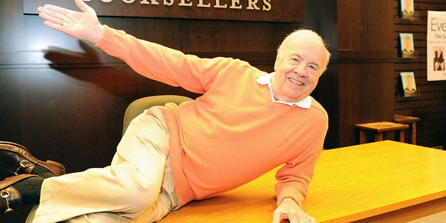 """Comedian Tim Conway attends the signing for his book """"What's So Funny... My Hilarious Life"""" at Barnes & Noble bookstore at The Grove on November 13, 2013 in Los Angeles, California. (Photo by Joshua Blanchard/Getty Images)"""