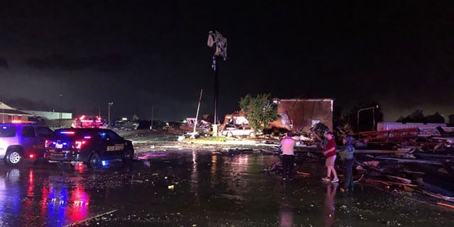 Deadly tornado rips through OK overnight