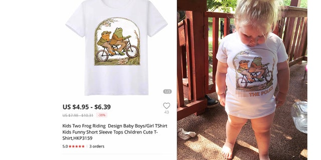 As Williamson couldn't help but laugh at the fashion fail, she also shared the story and photos of Salem in the top on her Facebook page, where it has since gone viral.