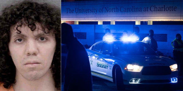 Trystan Andrew Terrell was arrested on charges of murder and attempted murder after he opened fire on students at University of North Carolina-Charlotte on Tuesday.