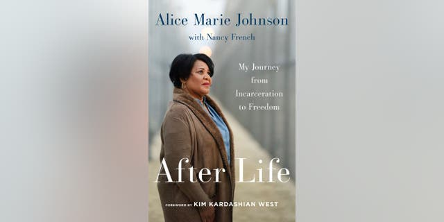 "Alice Johnson's new book, ""After Life: My Journey from Incarceration to Freedom,"" goes on sale Tuesday.<br>"