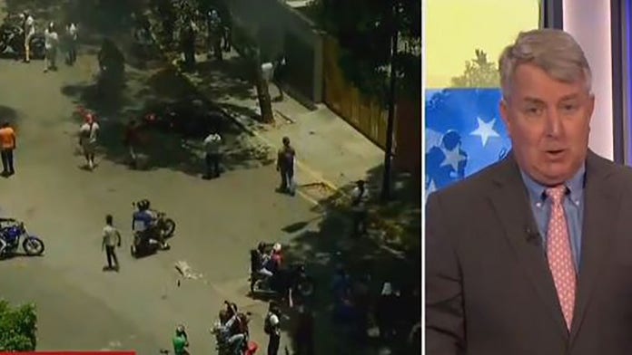 MSNBC reporter says if Venezuelan military 'have the guns they have the power'