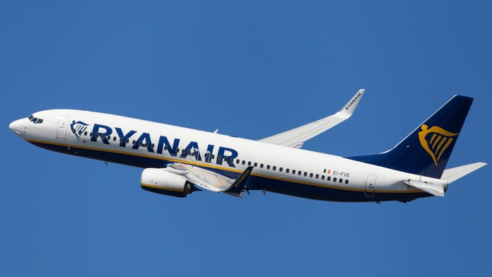 Ryanair passenger freaks out when he realizes he's on the wrong flight