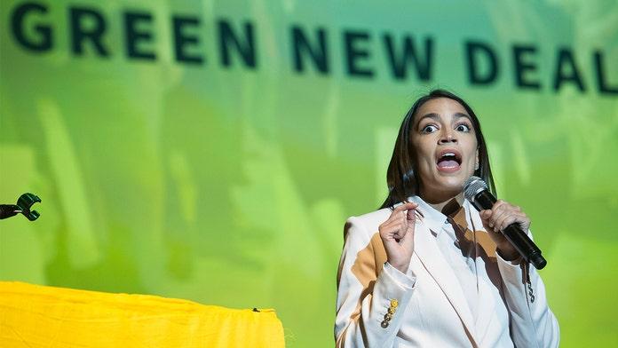 AOC defends 'Green New Deal' after Hickenlooper calls it 'distraction' during Dem debate