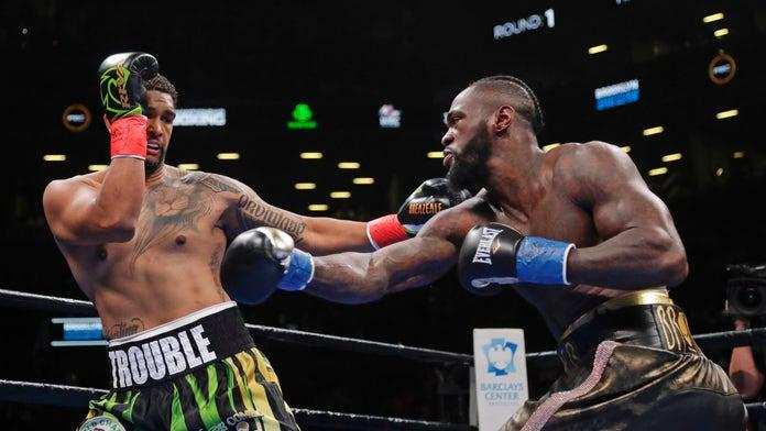 Wilder KOs Breazeale in 1st round to defend heavyweight title