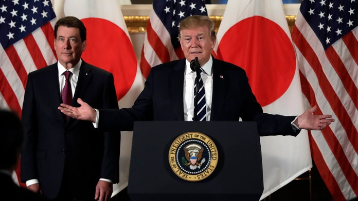 Trump, in Japan, says Tokyo has 'substantial' trade advantage over US