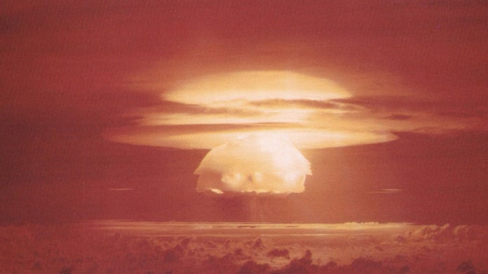 US 'nuclear coffin' on island in the Pacific could be 'leaking' radioactive sludge into the sea
