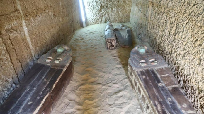 Incredible 4,500-year-old cemetery discovered near Egypt's Giza pyramids
