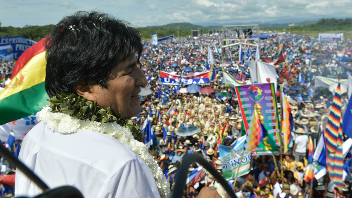 Bolivia's Morales begins bid for 4th term despite complaints