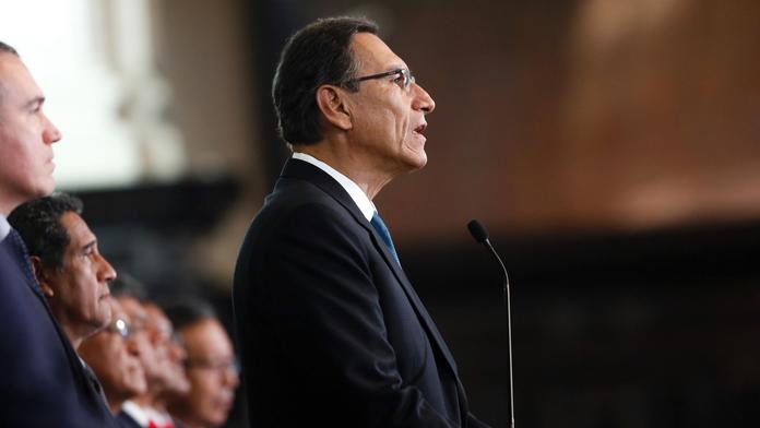 Peru leader demands confidence vote on anti-corruption plan