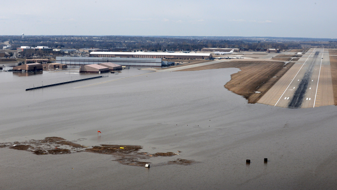 Air Force estimates $420M needed to rebuild Nebraska base