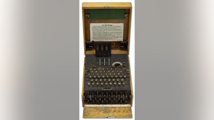 Extremely rare Enigma machine used by the Nazis during WWII surfaces, up for auction